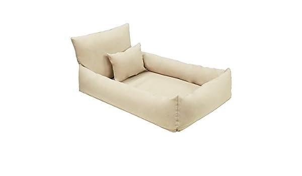 Hugo piel sintética Ortho - Almohada ortopédica cama para perros Perros sofá cojín Perros Tamaño: M de XL: Amazon.es: Productos para mascotas