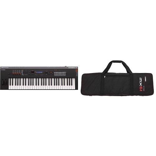 Yamaha MX61 Music Production Synthesizer with Padded Bag