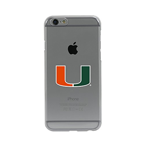 Guard Dog U Miami Hurricanes Clear Case for iPhone 6 / 6s