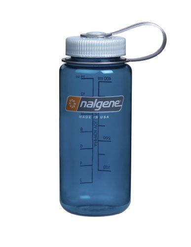 Nalgene Wide Mouth Water Bottle, 1-Pint, Trout Green