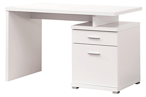 Cottage Office Modular (Coaster Home Furnishings Office Desk with Cabinet White)