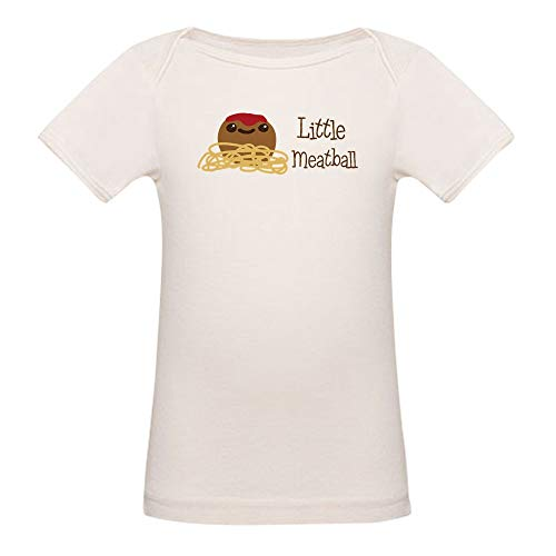 CafePress Little Meatball T Shirt Organic Cotton Baby T-Shirt