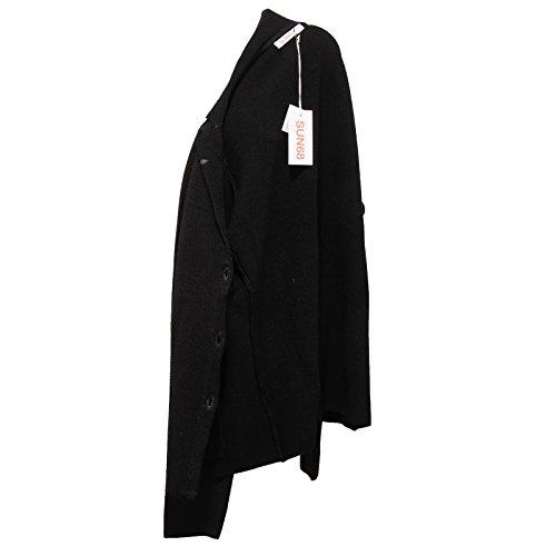 7124w Wool 68 Jacket Nero Black Giacca Sun Woman Donna Vintage 5adx00w7