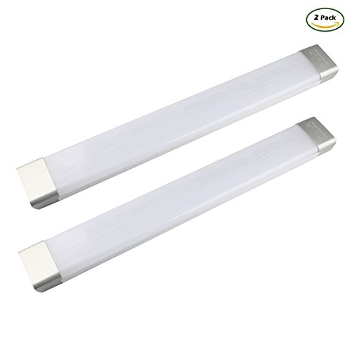 GALYGG 26W LED Tube,Wide Board Lights,2ft 2300LM 6500K (White),Long Panel Light,Fluorescent Tubes Replacement,Lighting Fixture with Large Luminous area,2 Pack (Light Fixture Tube)