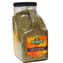 Durkee Whole Oregano Leaves, 1.5-Pound by Durkee