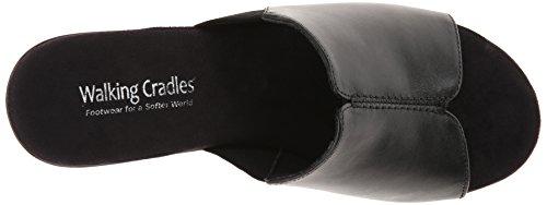 Sandal Cashmere Cradles Black Walking Women's Wedge Nestle zxq8wvvCn