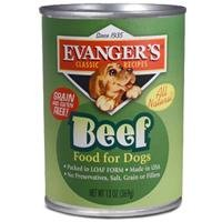 EVANGER'S-All Meat Classics 100% Beef, 12/13 oz. CASE ()