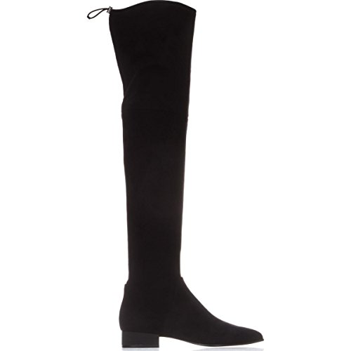 Knee Tyra Womens Closed Fashion High Boots Black Toe DKNY wdI5Zqd