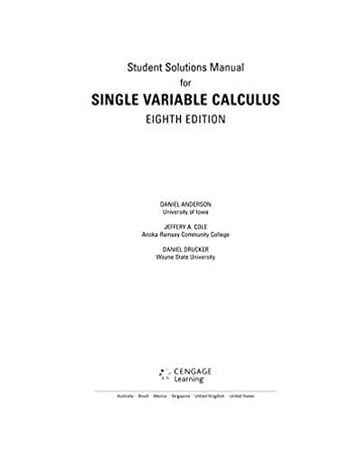 student solutions manual chapters 1 11 for stewart s single rh amazon com stewart calculus solution manual stewart solutions manual 7e pdf