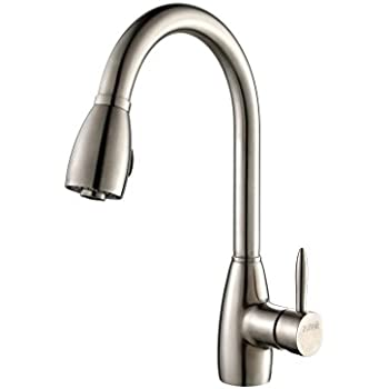 Kraus Nola Single Level Pull Down Kitchen Faucet