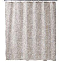 Amazon Target Home Cotton Slub Shower Curtain
