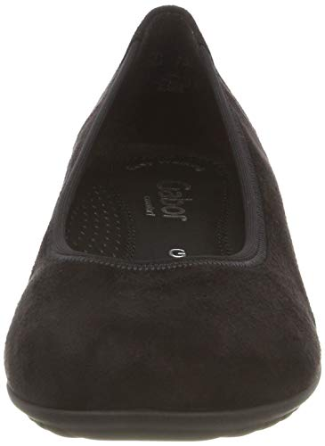 Shoes schwarz Gabor Ballerines Noir 17 Comfort Sport Femme 4zxxn87