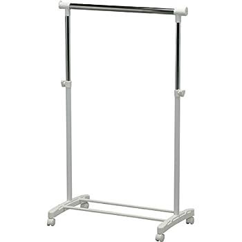 Amazon Com Iris Free Standing Garment Rack Clothing Rack