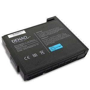 Battery PA3291U-1BRS for Toshiba (6600 mAh, DENAQ) (Pa3291u 1bas Battery)