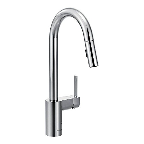 moen kitchen faucet motion - 3