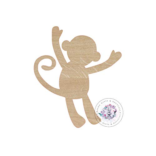 - MarthaFox Monkey Hanging Wooden Cutout Unfinished Fox Wooden Blanks Fox Wooden Shapes Fox Nursery Sign Wooden Shapes Wooden Door Hangers Shape