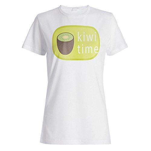 Neue Kiwi-Frucht Leckere Neuheit Damen T-shirt l349f