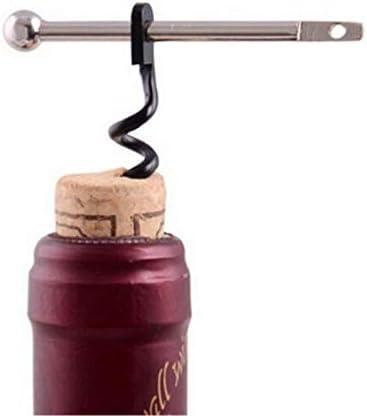 2 unids mini sacacorchos herramienta abridor de vino de emergencia viaje corcho abridor de vino mochila portátil camping kit entusiastas del vino camareros camareros abrebotellas