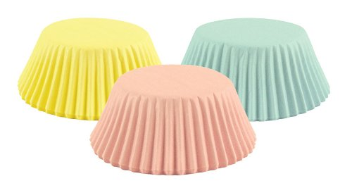 Fox Run 7144 Pastel Bake Cup Set, 3 x 3 x 1.25 inches, Multicolored ()