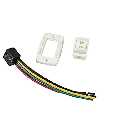 Lippert 117461 Slide-Out Switch Assembly, White: Automotive