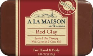 A La Maison Bar Soap - Red Clay - 8.8 oz ()
