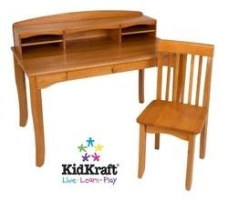 Avalon Desk with Hutch - Honey Beds, Bedding, Furniture, - Kidkraft Honey Table Avalon Furniture