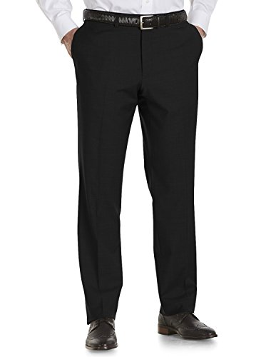 Jack Victor Pants (Riviera Traveler by Jack Victor Big & Tall Flat-Front Pants)