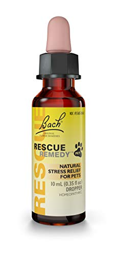 RESCUE REMEDY PET Dropper, 10mL - Natural Homeopathic Stress Relief Drops for Pets