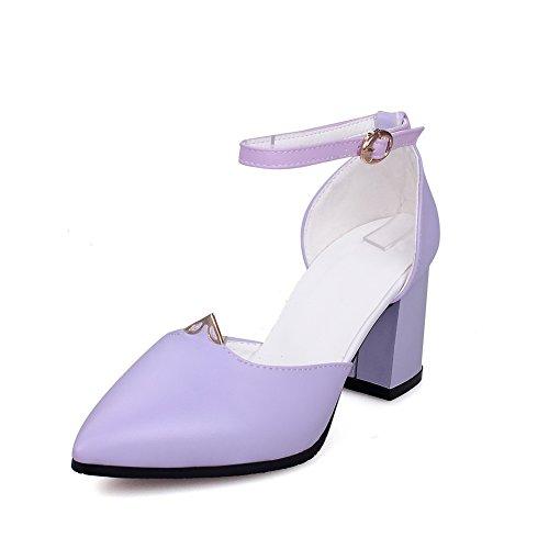 5 EU BalaMasa Femme ASL05351 36 Sandales Compensées Violet Violet 7670q