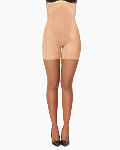 Spanx Women's High-Waisted Sheer S6 - Pantyhose Firm