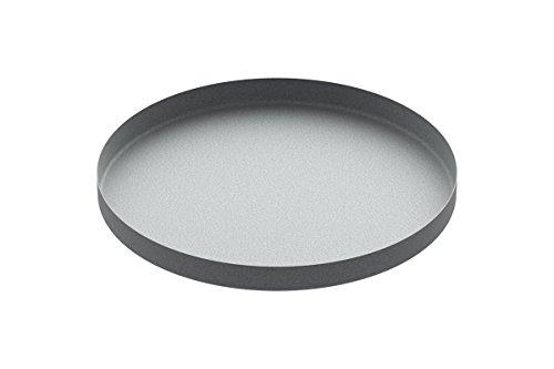 "24"" Galvanized Round Drip Pan"