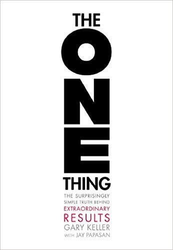 [By Gary Keller ] The ONE Thing: The Surprisingly Simple Truth Behind Extraordinary Results (Hardcover)【2018】by Gary Keller (Author) (Hardcover)