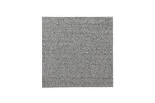 Price comparison product image Triluc Place & Stick Tile Mats,  Gray,  8 pcs