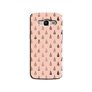 Cover It Up - Raindrops Pink Galaxy J2 2016 Hard Case
