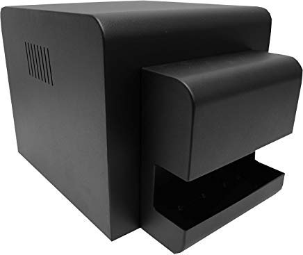 Boothify RX1HS Printer Cover with Removable Custom Tray Black