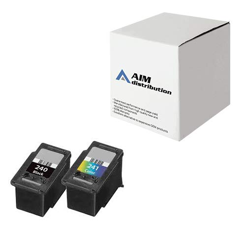 AIM Compatible Replacement for Canon PG-240/CL-241 Inkjet Combo Pack (Black/Color) - Generic