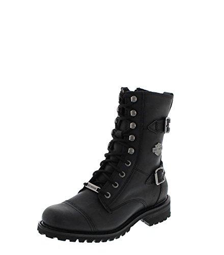 Boots Boots Women's Black Fashion Biker FB D83853 XFv5Unw1qx