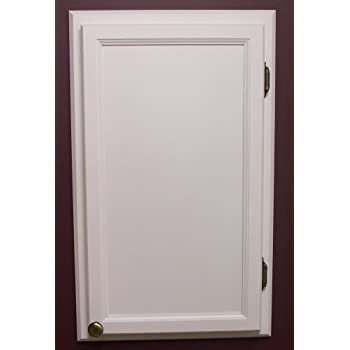 Amazon.com: (WC-418) Solid Wood In the Wall Bathroom Recessed ...