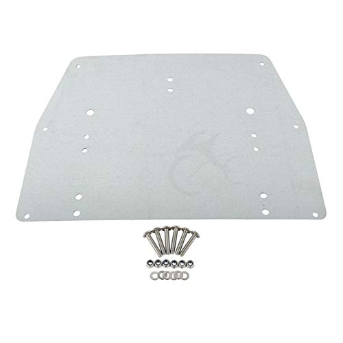 - US Warehouse - Tour Pak Pack Trunk Of Metal Base Plate For Harley Touring Electra Glide Ultra Classic FLT FLHT FLHTCU FLHR 1993-13 New