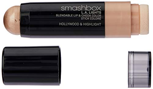 - Smashbox L.A. Lights Blendable Lip and Cheek Color Lipstick, Hollywood and Highlight, 0.17 Fluid Ounce