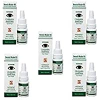 Dr Reckeweg Cineraria Maritima Eye Drops Without Alcohol 10ml (Pack of 5)