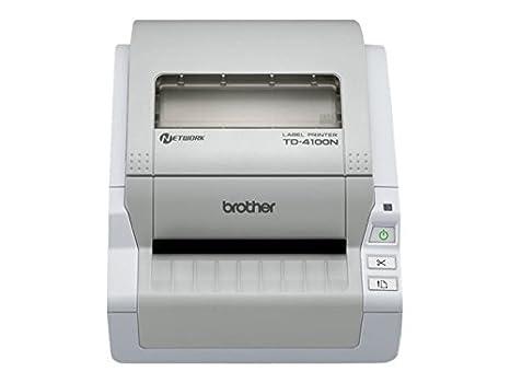 Brother TD-4100N - Impresora de Etiquetas (Térmica Directa ...