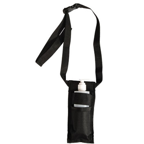 Rapport simple massage bouteille Holster, Noir