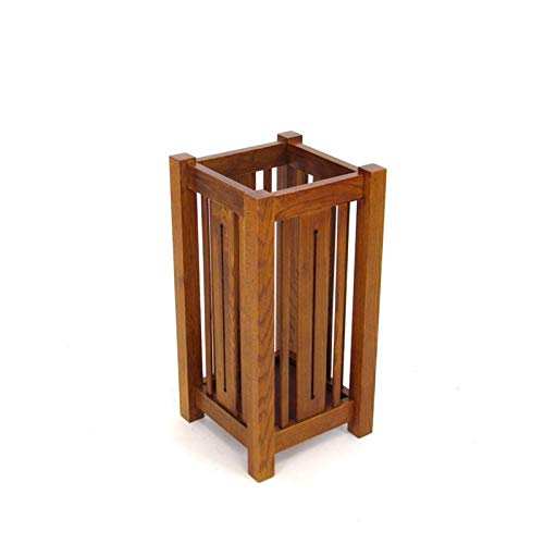 Wayborn Home Furnishing Wayborn Umbrella Stand, Oak Finish (Wood Stand Umbrella)
