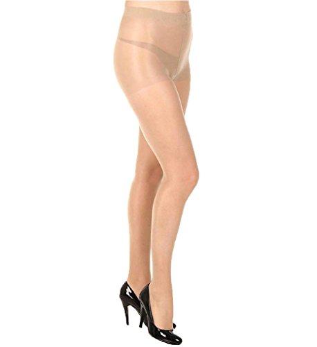 HUE So Silky Sheer Tights - Natural 2 (Hue Womens Sheer)