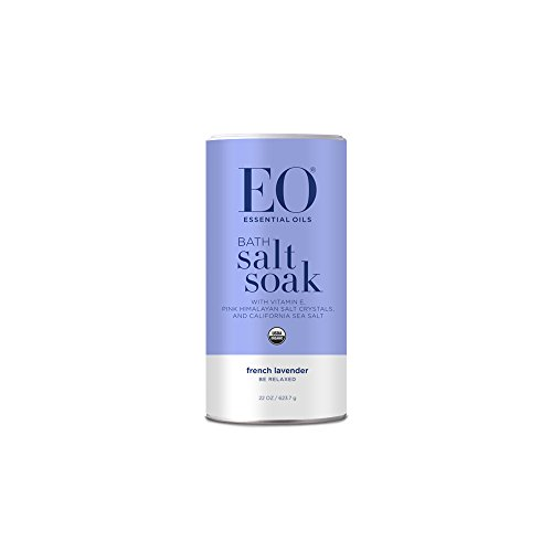 EO Botanical Bath Salt Soak, Serenity, French Lavender, 22 (Organic Lavender Bath Soak)