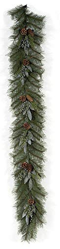 - 6 Foot Mixed Pine Garland with Pine Cones Autograph Foliages