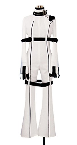 Dreamcosplay Anime Code Geass C.C White Battle Suit Cosplay (Code Geass Uniform Costumes)