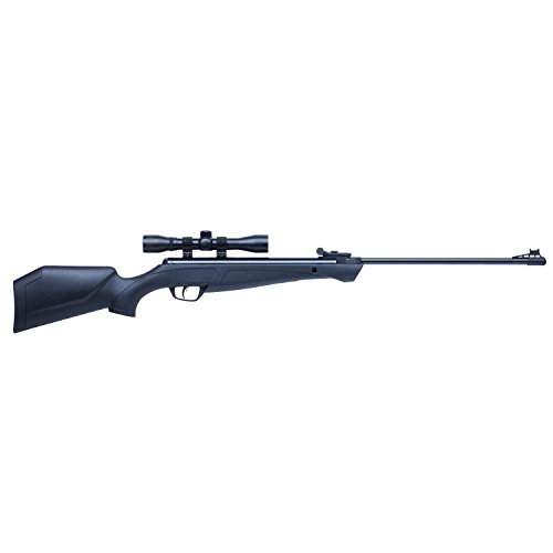 Crosman CSNP2SX Shockwave NP Synthetic Stock Nitro Piston Hunting Air Rifle with 4x32 Scope (.22-Caliber) ()