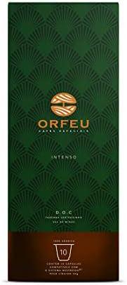 Cápsulas de Café Intenso Orfeu, Compatível com Nespresso, Contém 10 Cápsulas